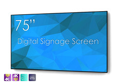 "SWEDX 75"" DigitalSignage Screen / nat 4K"