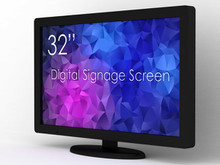 "SWEDX 32"" DS Touch Screen, / nat 4K"