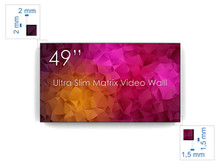 "SWEDX 49"" Ultra Matrix Video Wall"