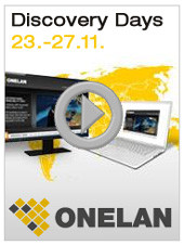 Onelan Discovery Days vom 23. – 27. November