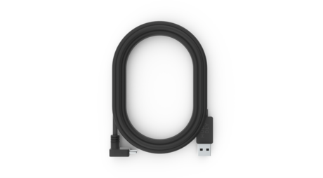 USB 3 Type Angled C to A 2.0m