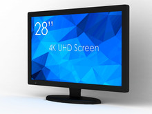 "SWEDX 28"" DigitalSignage Screen / nat 4K"
