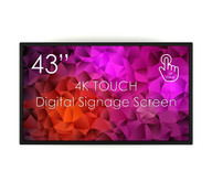 """SWEDX 43""""  Touch Display / nat 4K"""