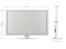 "SWEDX 32"" DigitalSignage Screen / nat 4K"