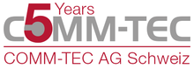 5 years COMM-TEC AG in Switzerland