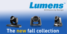 The new Lumens video cameras for every application